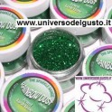 COLORANTE GLITTER IN POLVERE LUSH LIME (VERDE BRILLANTE)  5 gr - RAINBOWDUST - LINEA SPARKLE