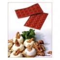 STAMPO IN SILICONE NR. 18 MINI SAVARIN ø41 MM H 12 MM SILIKOMART (tortina - ciambella - dolce - cioccolata)