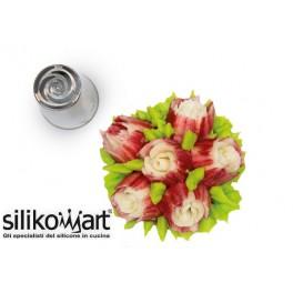 Flower Tube 03 SILIKOMART - Cornetto in blister - beccuccio per realizzare fiori