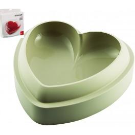 SILIKOMART STAMPO BATTICUORE TORTIERA SILICONE FORNO TORTA CUORE 3D