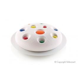 STAMPO LUNA della linea 3Design di Silikomart - torta